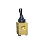 Lever filling valve, self venting
